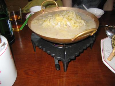 東北料理、白菜鍋