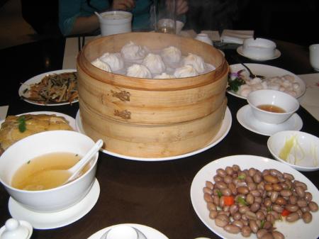 上海の台湾飲茶、美味